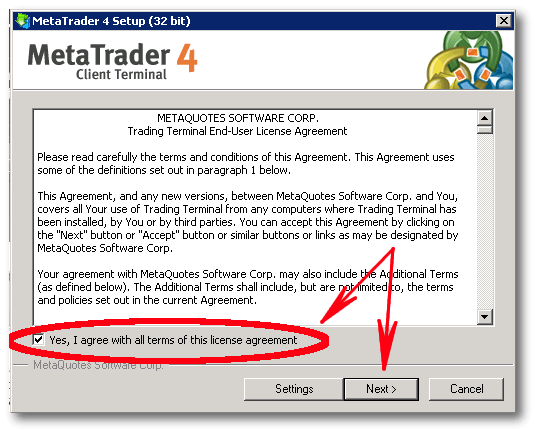 How to install MetaTrader 4 - NextPointHost